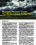 david r leng article- the perfect work comp storm