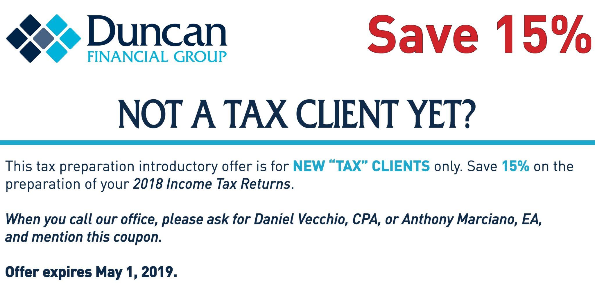 Tax Coupon 2019