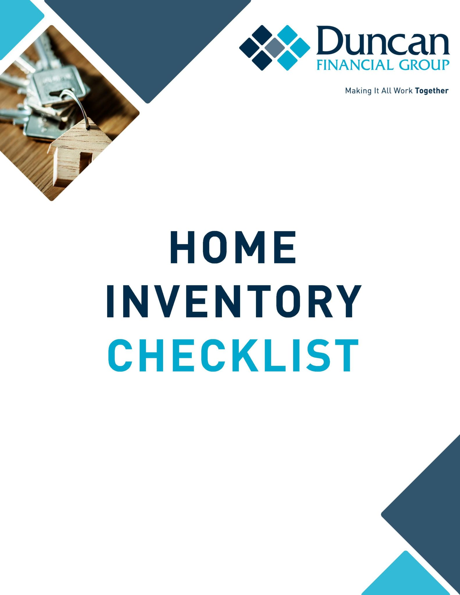 Home Inventory Cover