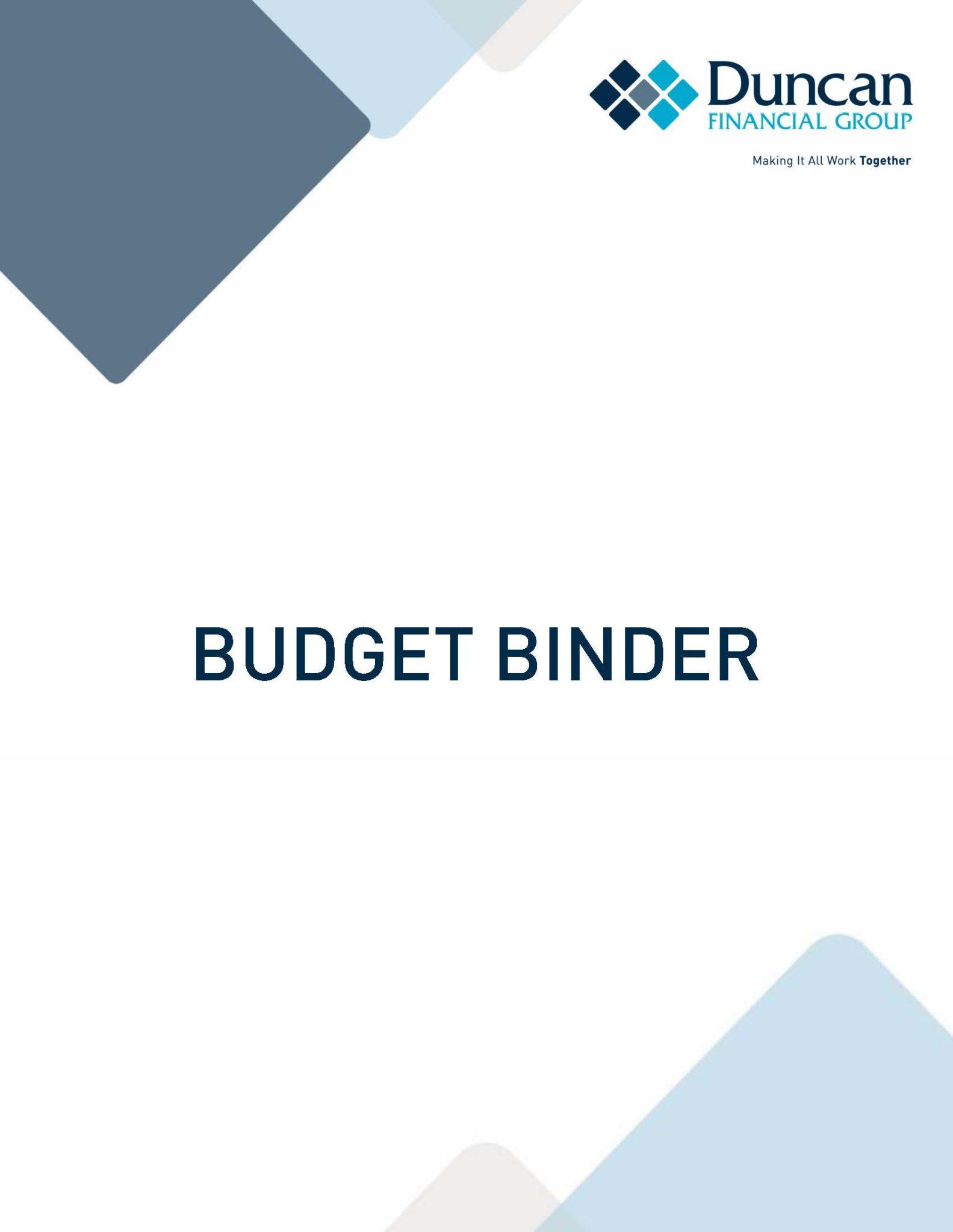 Budget Binder: Reach Your Financial Goals